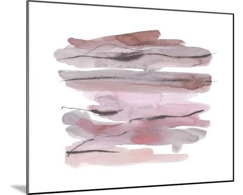 Modern Slate - Blush-Kim Johnson-Mounted Giclee Print
