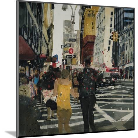 Broadway Melody, New York-Susan Brown-Mounted Giclee Print