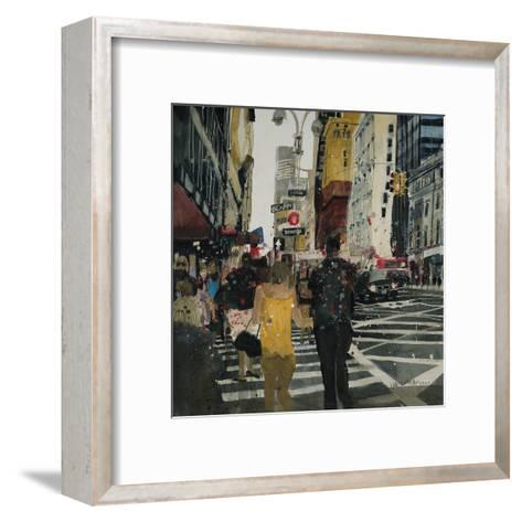 Broadway Melody, New York-Susan Brown-Framed Art Print