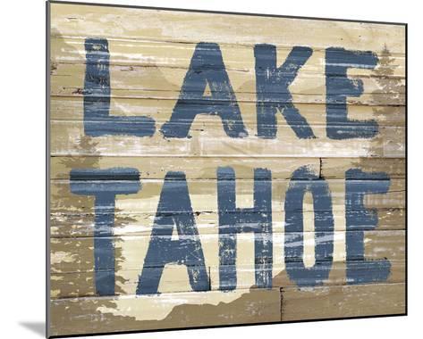 Lake Tahoe-Mark Chandon-Mounted Giclee Print
