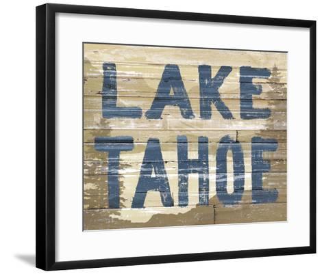 Lake Tahoe-Mark Chandon-Framed Art Print
