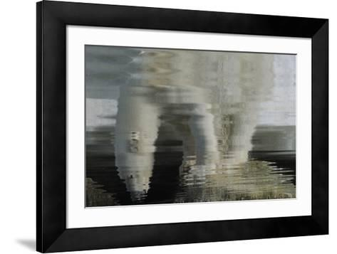 Polar Bear Reflection-Staffan Widstrand-Framed Art Print