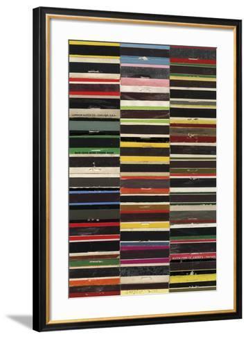 Matchbook - Strike-Andy Burgess-Framed Art Print
