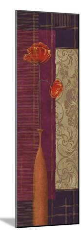 Opulence II-Linda Wood-Mounted Giclee Print