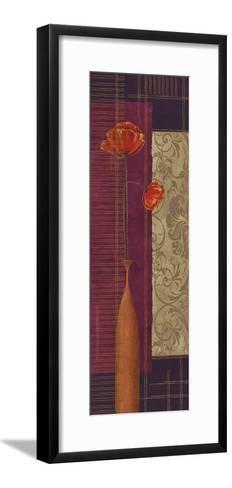 Opulence II-Linda Wood-Framed Art Print