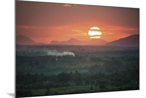 Sunset Delight-Bobby Joshi-Mounted Giclee Print