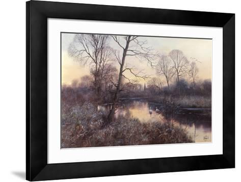 Frosty Morning-Clive Madgwick-Framed Art Print