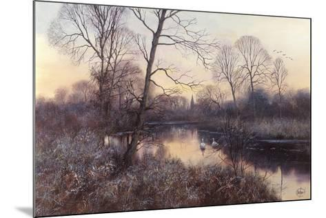 Frosty Morning-Clive Madgwick-Mounted Giclee Print