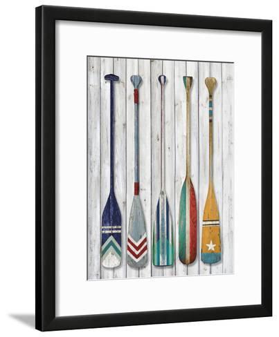 Whitewater Slalom-Mark Chandon-Framed Art Print