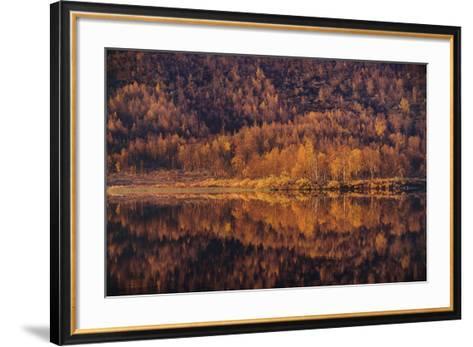Autumn Reflections-Staffan Widstrand-Framed Art Print