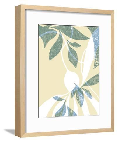 High Tide - Shimmer-Kristine Hegre-Framed Art Print