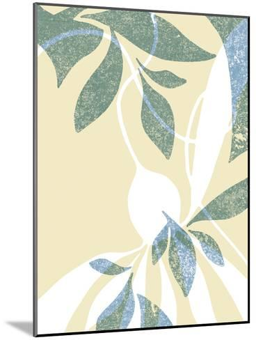 High Tide - Shimmer-Kristine Hegre-Mounted Giclee Print