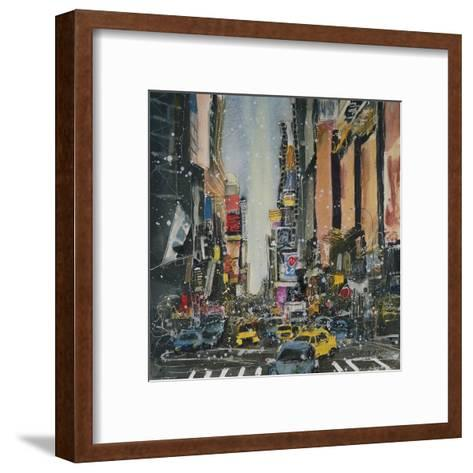 Theatre District, New York-Susan Brown-Framed Art Print