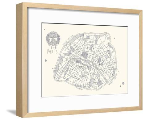 Urban Sprawl - Paris-Kristine Hegre-Framed Art Print