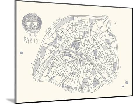 Urban Sprawl - Paris-Kristine Hegre-Mounted Giclee Print