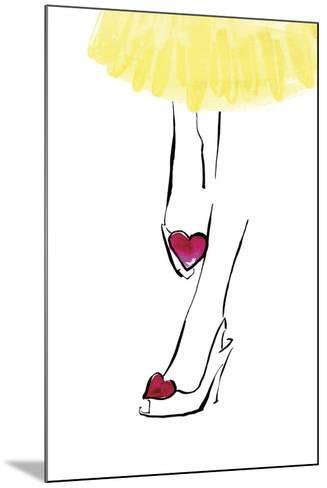 Heart Shoes-Johanna Fernihough-Mounted Giclee Print