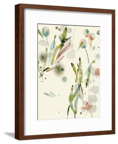 Floratopia - Spring-Kristine Hegre-Framed Art Print