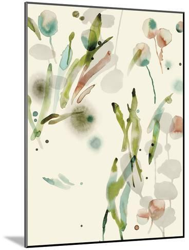 Floratopia - Spring-Kristine Hegre-Mounted Giclee Print