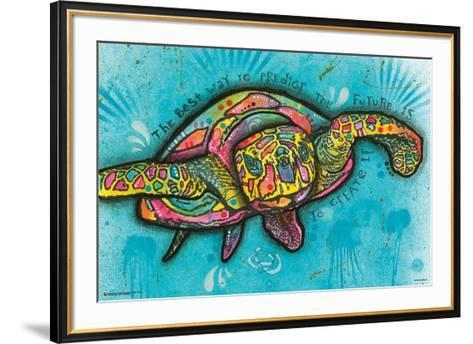 Turtle By Dean Russo--Framed Art Print