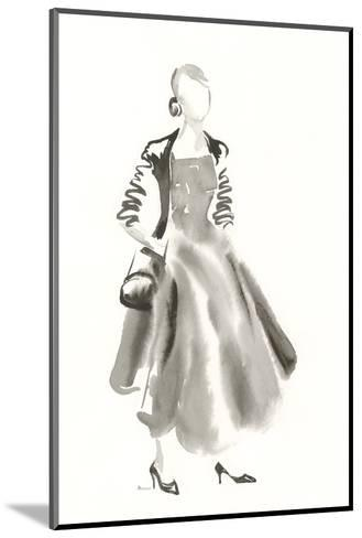Couture Noir - Satin-Deborah Pearce-Mounted Art Print