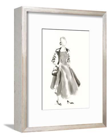 Couture Noir - Satin-Deborah Pearce-Framed Art Print
