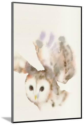 Forest Odyssey - Owl-Kristine Hegre-Mounted Art Print