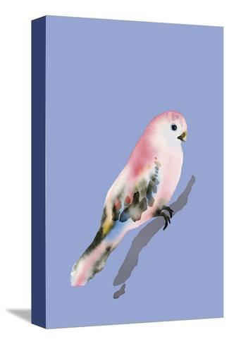 Paintbox Birds - Love-Kristine Hegre-Stretched Canvas Print