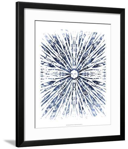 Indigo Ink Motif VIII-June Erica Vess-Framed Art Print