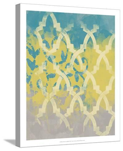 Yellow in the Middle II-Alonzo Saunders-Stretched Canvas Print