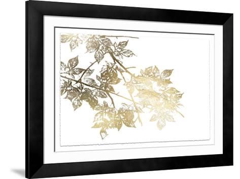 Gold Foil Maple I Deckled-Jennifer Goldberger-Framed Art Print