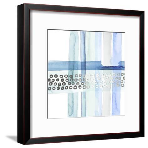 Silver Cross Stitch III-Grace Popp-Framed Art Print