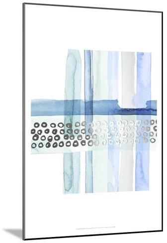 Silver Cross Stitch III-Grace Popp-Mounted Art Print