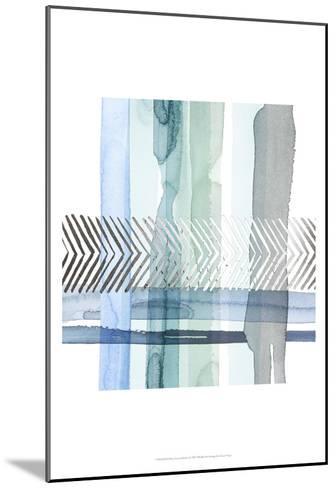 Silver Cross Stitch I-Grace Popp-Mounted Art Print