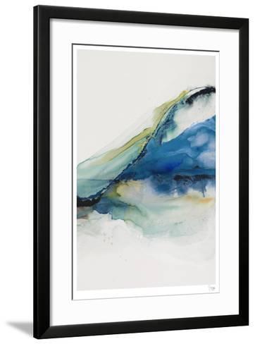 Abstract Terrain IV-Sisa Jasper-Framed Art Print