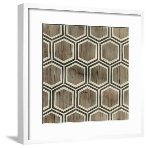 Driftwood Geometry IV-June Erica Vess-Framed Art Print