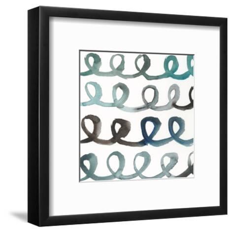 La Mer II-Chariklia Zarris-Framed Art Print