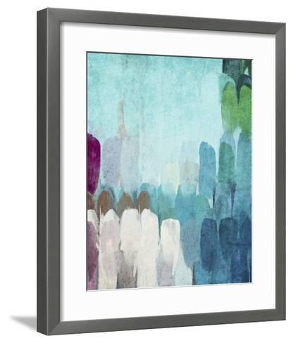 Abstract the Blues II-Irena Orlov-Framed Art Print