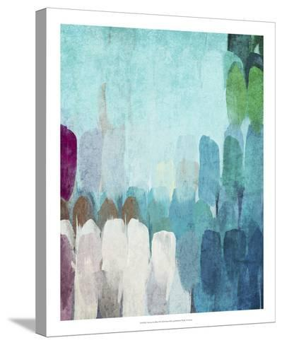 Abstract the Blues II-Irena Orlov-Stretched Canvas Print