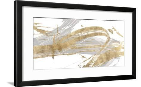 Gold & Grey II-Studio W-Framed Art Print