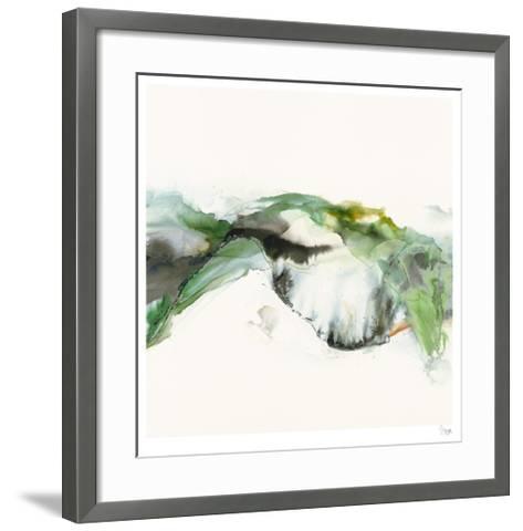 Green Terrain I-Sisa Jasper-Framed Art Print