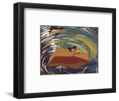 Walt Disney's Fantasia: The Whirlpool--Framed Art Print
