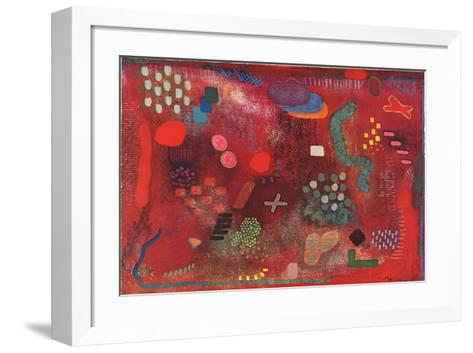 Untitled-Robert Natkin-Framed Art Print