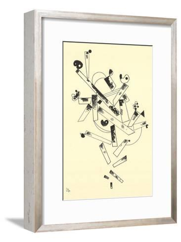 Centenaire (No Text)-Wassily Kandinsky-Framed Art Print