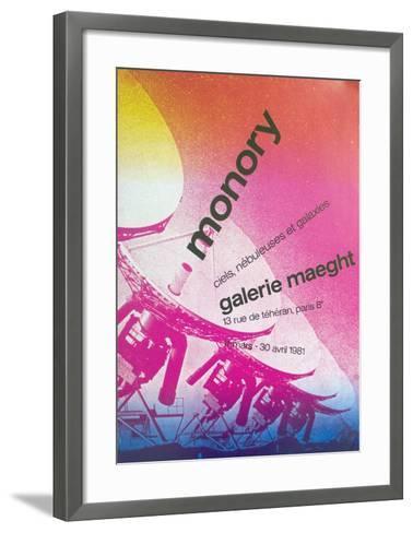 Galerie Maeght-Pierre Monory-Framed Art Print