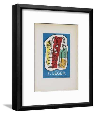 Galerie Louis Carre-Fernand Leger-Framed Art Print