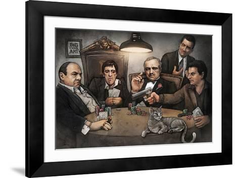 Gangers-Big Chris Art-Framed Art Print