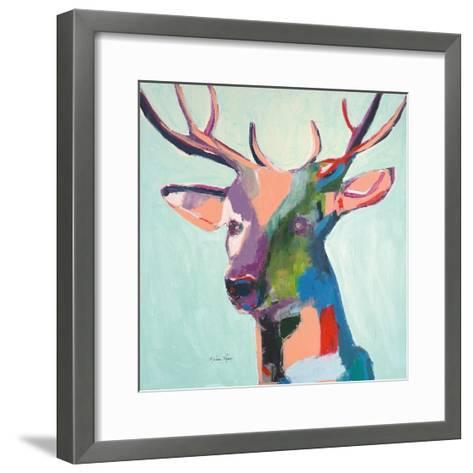 Deer-Melissa Lyons-Framed Art Print