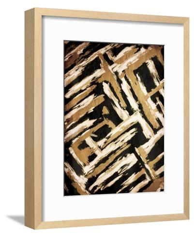Hectic Maze-OnRei-Framed Art Print