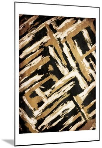 Hectic Maze-OnRei-Mounted Art Print