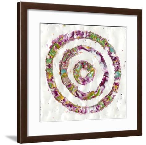 Smoke Rings I-Alicia Ludwig-Framed Art Print